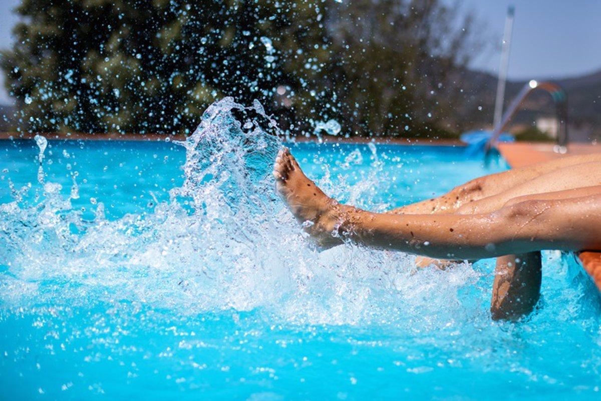 infecciones pies en las piscinas